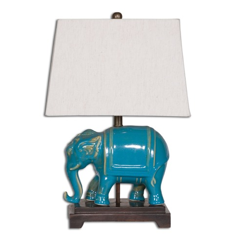Uttermost Lighting Uttermost Pradesh Blue Ceramic Table Lamp 26210