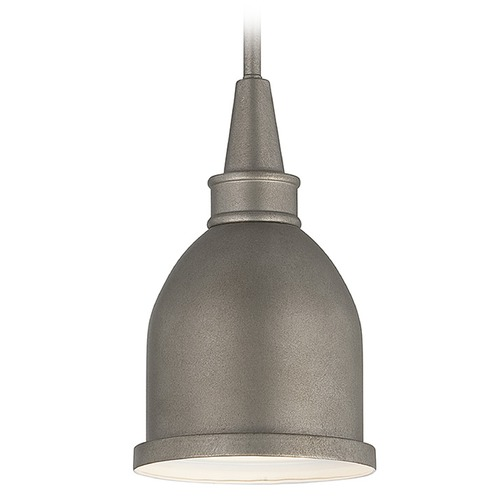Savoy House Savoy House Aged Steel Mini-Pendant Light with Bowl / Dome Shade 7-4131-1-242