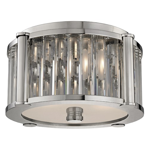 Hudson Valley Lighting Hartland 2 Light Flushmount Light - Polished Nickel 9513-PN