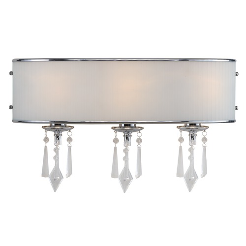 Golden Lighting Golden Lighting Echelon Chrome Bathroom Light 8981-BA3 BRI