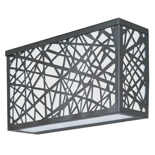 ET2 Lighting Inca LED Large Outdoor Wall Sconce E21336-61BZ