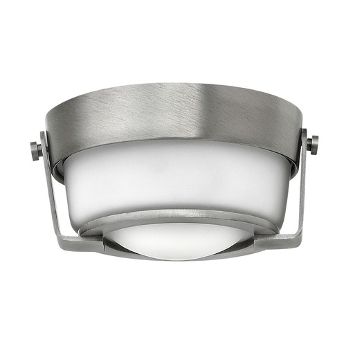 Hinkley Lighting Hinkley Lighting Hathaway Antique Nickel LED Flushmount Light 3228AN