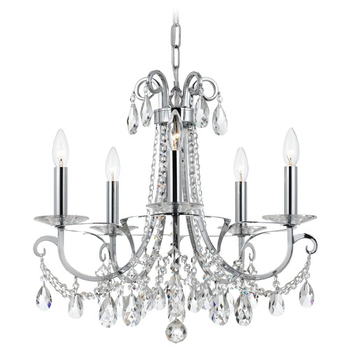 Crystorama Lighting Crystorama Lighting Othello Polished Chrome Crystal Chandelier 6825-CH-CL-MWP