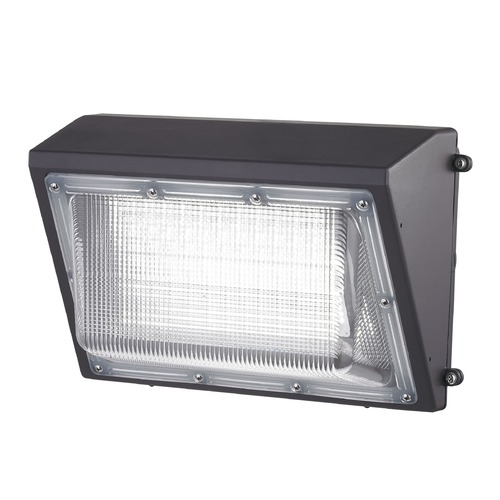 Recesso Lighting by Dolan Designs LED Wall Pack Bronze 70-Watt 120v-277v 7500 Lumens 4000K 110 Degree Beam Spread WP01-70W-40-BZ