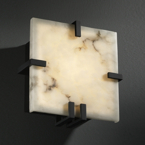 Justice Design Group Justice Design Group Lumenaria Collection Sconce FAL-5550-MBLK