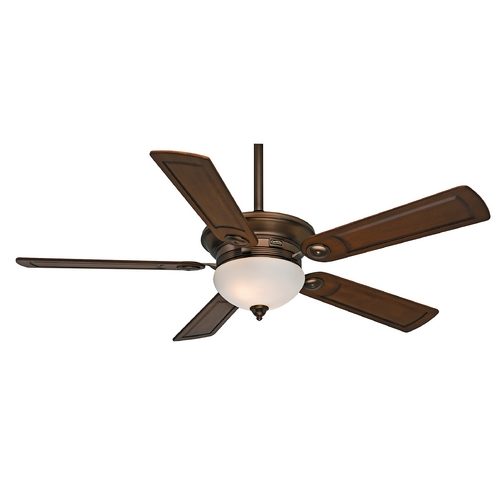 Casablanca Fan Co Casablanca Fan Whitman Bronze Patina Ceiling Fan with Light 59061