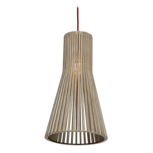 Access Lighting Access Lighting Kobu Wood Mini-Pendant Light 23774-WD/NAT