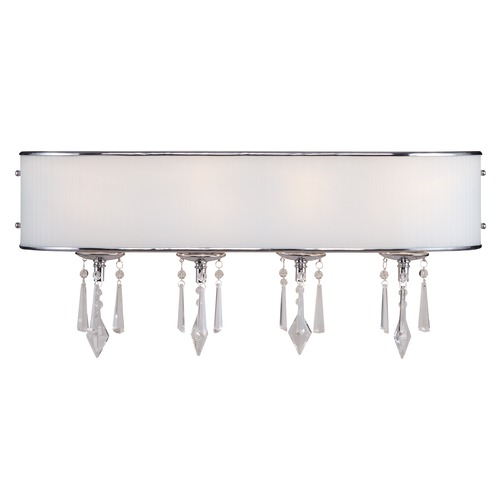 Golden Lighting Golden Lighting Echelon Chrome Bathroom Light 8981-BA4 BRI