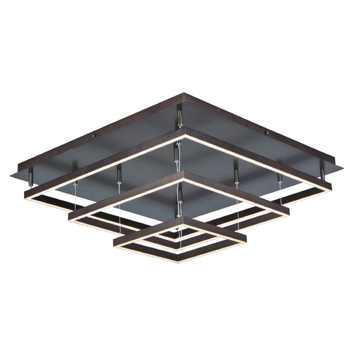 ET2 Lighting Quad LED Flush Mount E22408-BZ