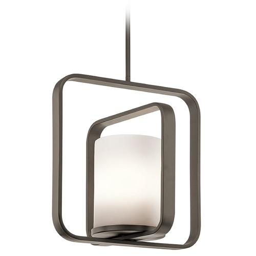 Kichler Lighting Kichler Lighting City Loft Pendant Light with Cylindrical Shade 43784OZ