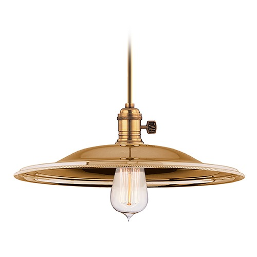 Hudson Valley Lighting Pendant Light in Aged Brass Finish 9001-AGB-MM2