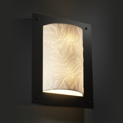 Justice Design Group Justice Design Group Porcelina Collection Sconce PNA-5563-BMBO-MBLK