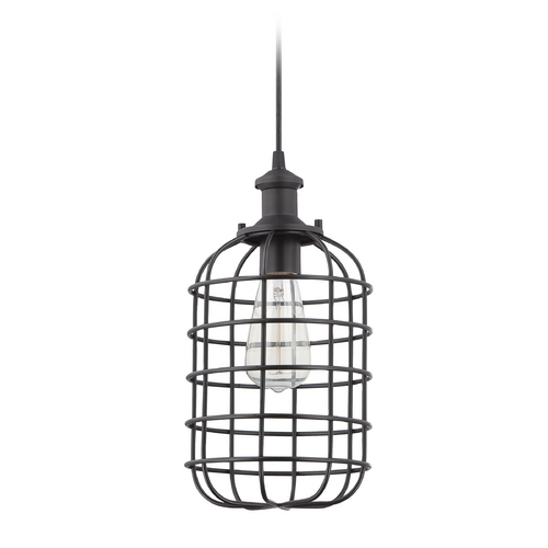 Jeremiah Lighting Jeremiah Lighting Matte Black Mini-Pendant Light P330MBK1