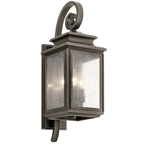 Kichler Lighting Kichler Lighting Wiscombe Park Outdoor Wall Light 49502OZ