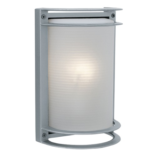 Access Lighting Access Lighting Nevis Satin Nickel LED Outdoor Wall Light 20011LEDMG-SAT/RFR