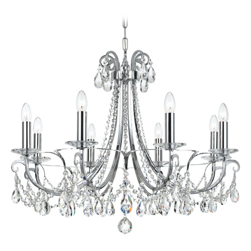 Crystorama Lighting Crystorama Lighting Othello Polished Chrome Crystal Chandelier 6828-CH-CL-MWP
