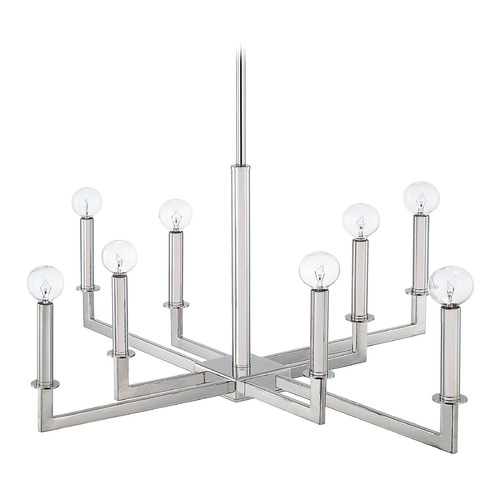 Capital Lighting Capital Lighting City Polished Nickel Chandelier 419281PN