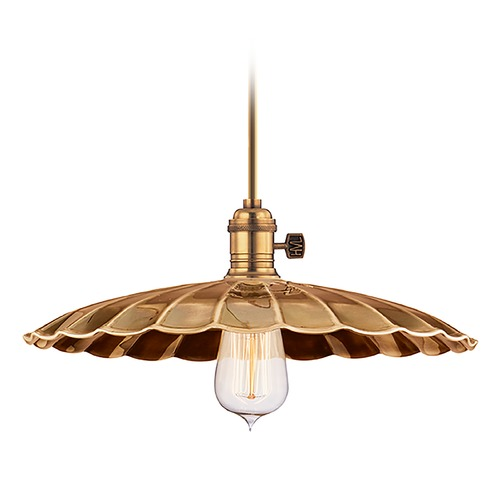 Hudson Valley Lighting Pendant Light in Aged Brass Finish 9001-AGB-MM3
