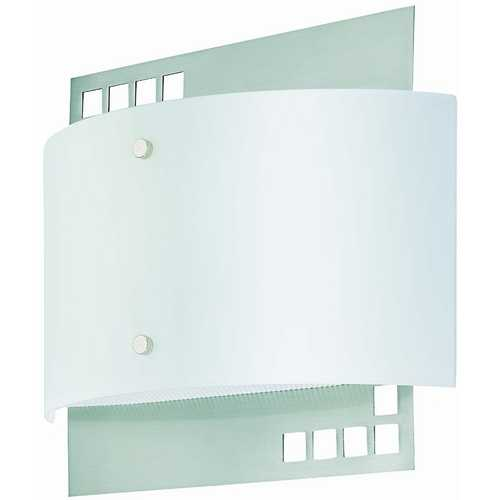 Lite Source Lighting Lite Source Lighting Karlstad Polished Steel Sconce LS-16801PS/FRO