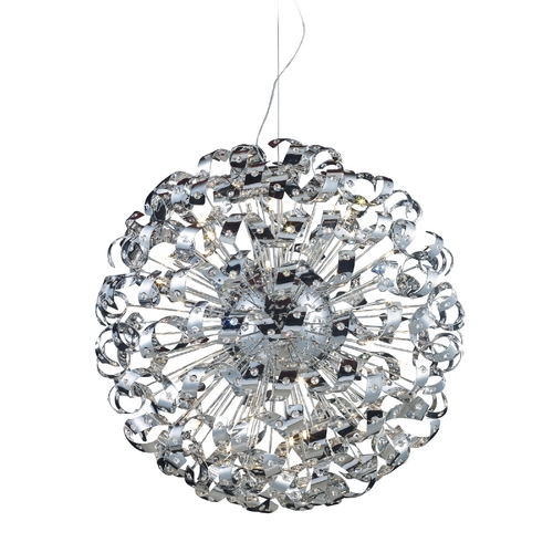 Elk Lighting Modern Pendant Light in Polished Chrome Finish 30007/42