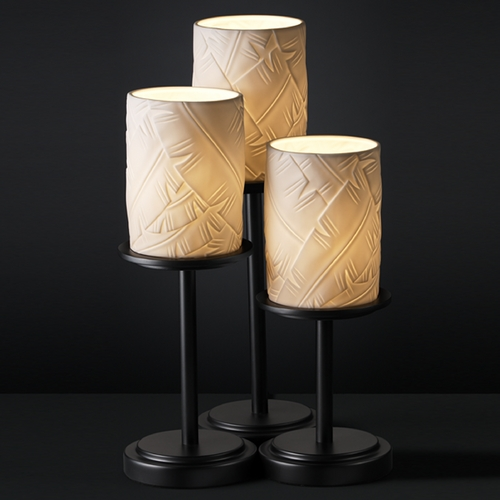 Justice Design Group Justice Design Group Limoges Collection Table Lamp POR-8797-10-BANL-MBLK