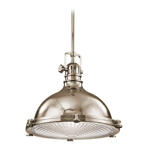 Kichler Lighting Kichler Lighting Hatteras Bay Polished Nickel Pendant Light 2682PN