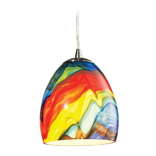 Elk Lighting LED Mini-Pendant Light 31445/1RB-LED