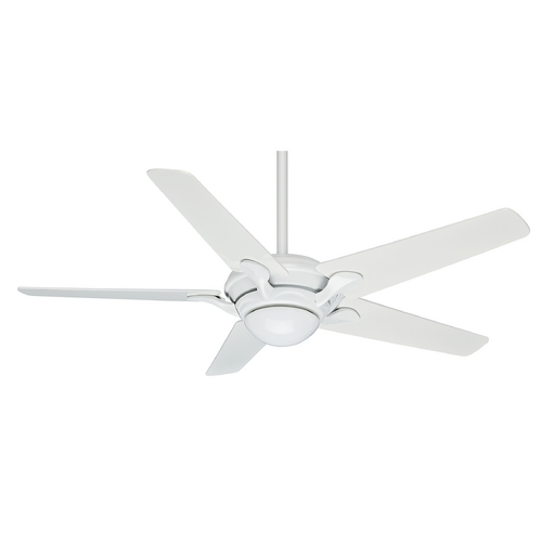 Casablanca Fan Co Casablanca Fan Bel Air Snow White Ceiling Fan with Light 59077