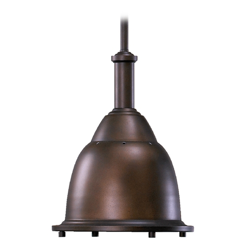 Quorum Lighting Quorum Lighting Oiled Bronze Pendant Light with Bowl / Dome Shade 805-10-86