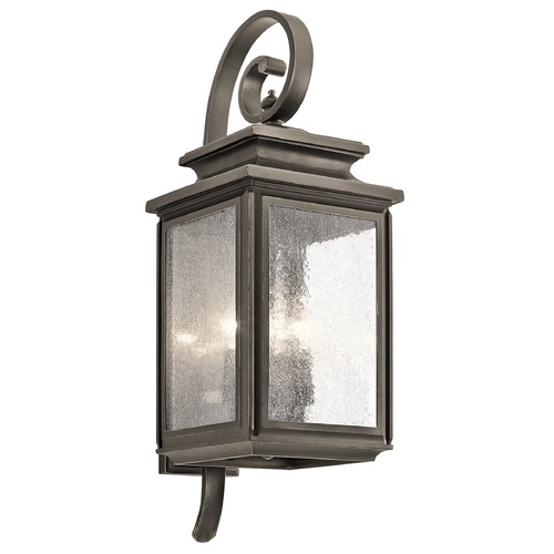 Kichler Lighting Kichler Lighting Wiscombe Park Outdoor Wall Light 49503OZ