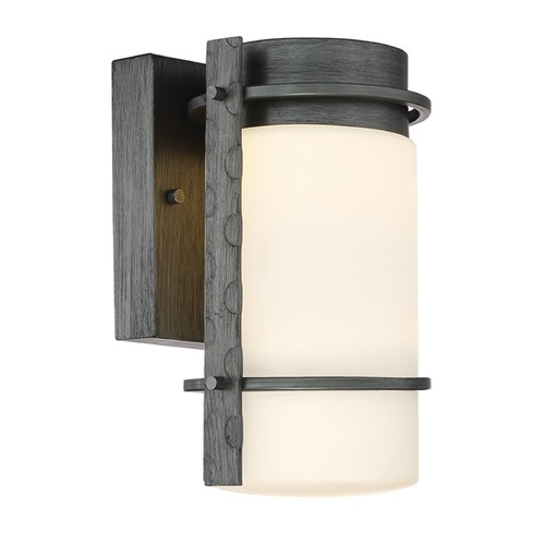 Designers Fountain Lighting Designers Fountain Aldridge Weathered Iron LED Outdoor Wall Light LED34301-WI