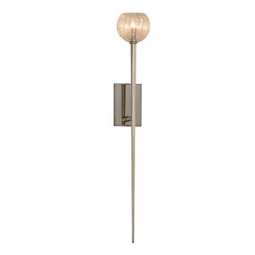 Corbett Lighting Mid-Century Modern Sconce Modern Silver Leaf Merlin by Corbett Lighting 233-11