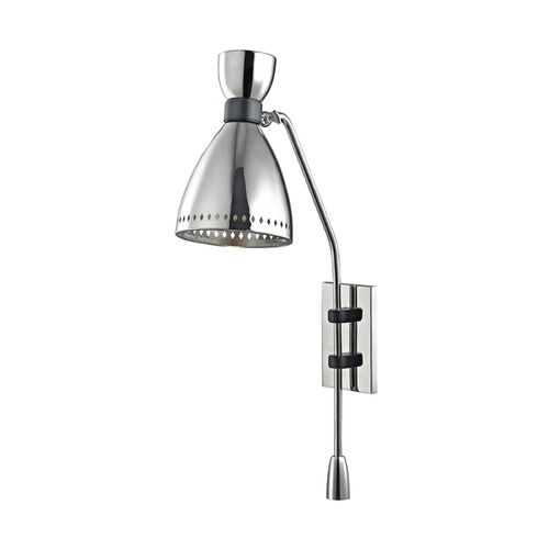 Hudson Valley Lighting Hudson Valley Lighting Solaris Polished Nickel Sconce 4141-PN