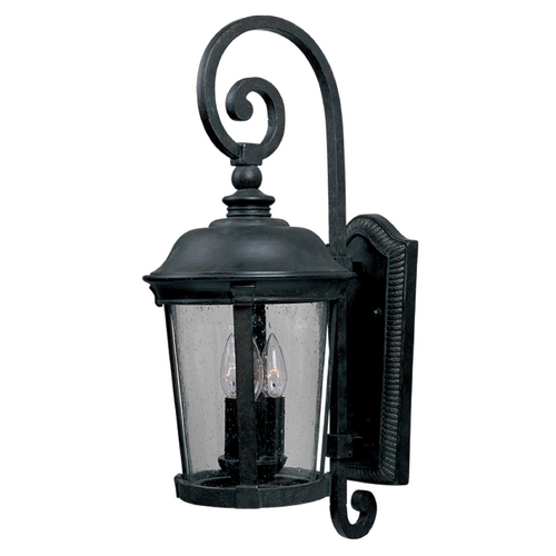 Maxim Lighting Maxim Lighting Dover Dc Bronze Outdoor Wall Light 3025CDBZ