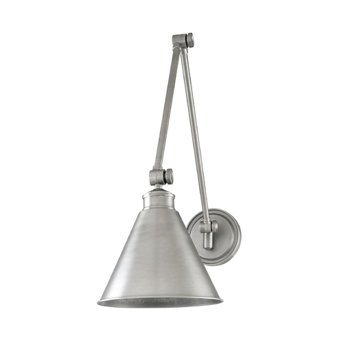Hudson Valley Lighting Swing Arm Lamp in Polished Nickel Finish 4721-PN