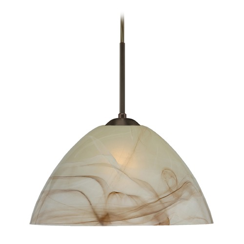 Besa Lighting Besa Lighting Tessa Bronze LED Pendant Light 1JT-420183-LED-BR