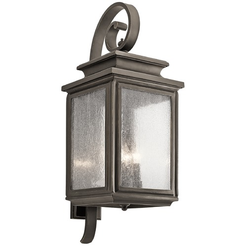 Kichler Lighting Kichler Lighting Wiscombe Park Outdoor Wall Light 49504OZ