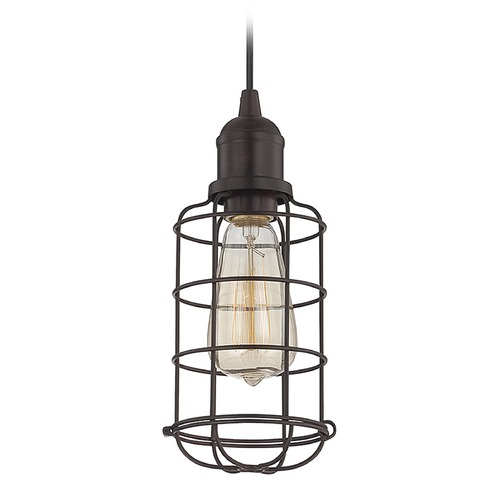 Savoy House Savoy House English Bronze Mini-Pendant Light 7-4133-1-13