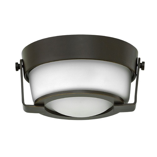 Hinkley Lighting Hinkley Lighting Hathaway Olde Bronze LED Flushmount Light 3228OB-WH