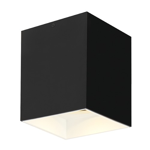 Tech Lighting Black / White LED Flushmount Ceiling Light by Tech Lighting 700FMEXO660BW-LED930