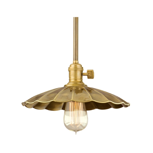 Hudson Valley Lighting Mini-Pendant Light 9001-AGB-MS3