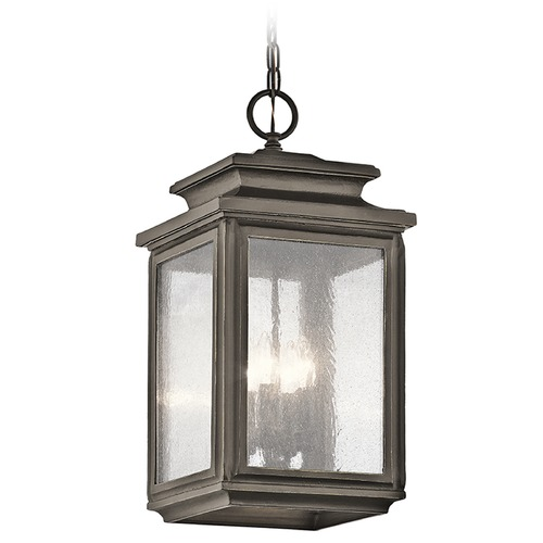 Kichler Lighting Kichler Lighting Wiscombe Park Outdoor Hanging Light 49505OZ