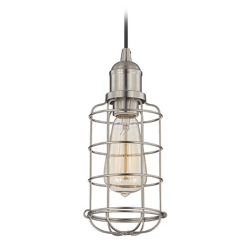 Savoy House Savoy House Satin Nickel Mini-Pendant Light 7-4133-1-SN