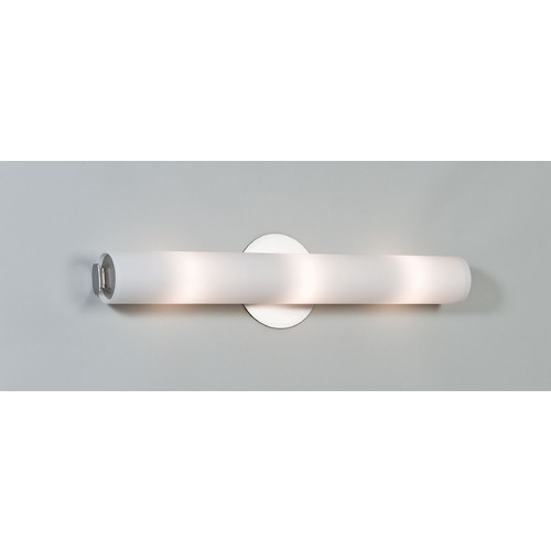 Illuminating Experiences Visual White Bathroom Light - Vertical or Horizontal Mounting Visual2WHT