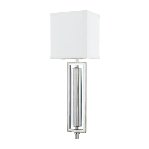 Capital Lighting Mid-Century Modern Sconce Polished Nickel Hudson by Capital Lighting 611911PN