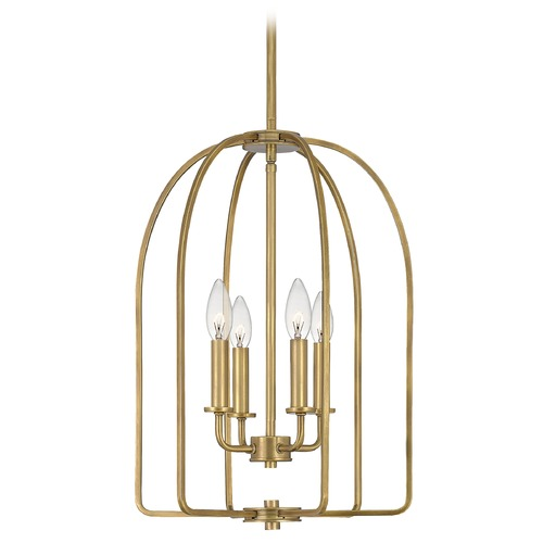 Quoizel Lighting Quoizel Lighting Cornell Weathered Brass Pendant Light COL5214WS