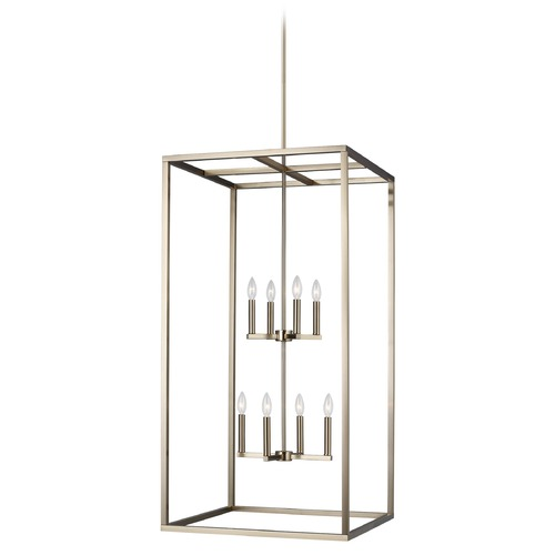 Sea Gull Lighting Sea Gull Lighting Moffet Street Satin Brass Pendant Light 5234508-848