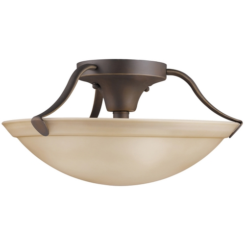 Kichler Lighting Kichler Semi-Flushmount Light in Bronze Finish 3627OZ