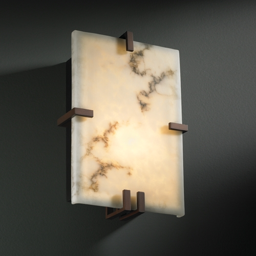 Justice Design Group Justice Design Group Lumenaria Collection Sconce FAL-5551-DBRZ