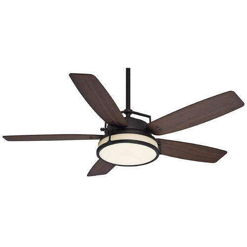 Casablanca Fan Co Casablanca Fan Caneel Bay Maiden Bronze Ceiling Fan with Light 59114